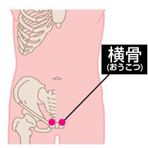 横骨(おうこつ)